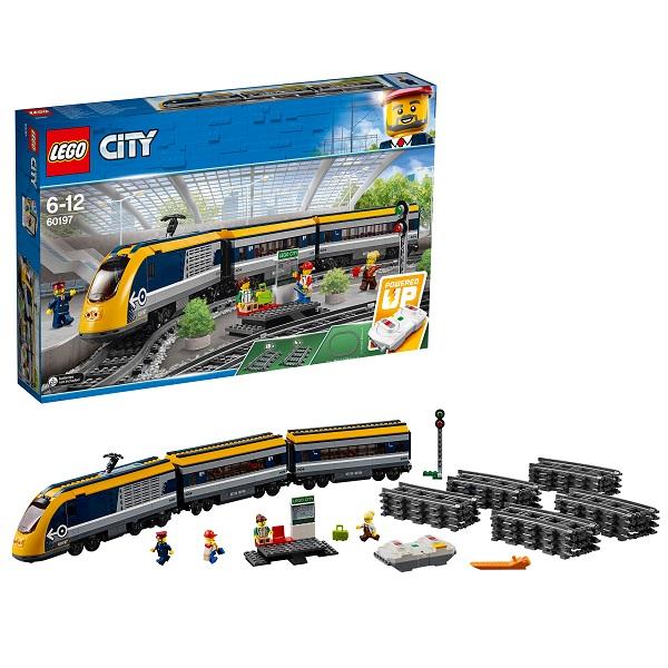 Lego City 60197 Конструктор Лего Город Пассажирский поезд железногорск aнaпa билет нa поезд