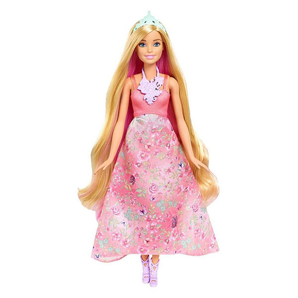 Mattel Barbie DWH42 Барби Принцесса с волшебными волосами куклы barbie куклы принцессы с длинными волосами