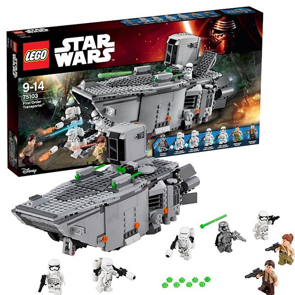 Lego Star Wars 75103 Конструктор Лего Звездные Войны Транспорт Первого Ордена