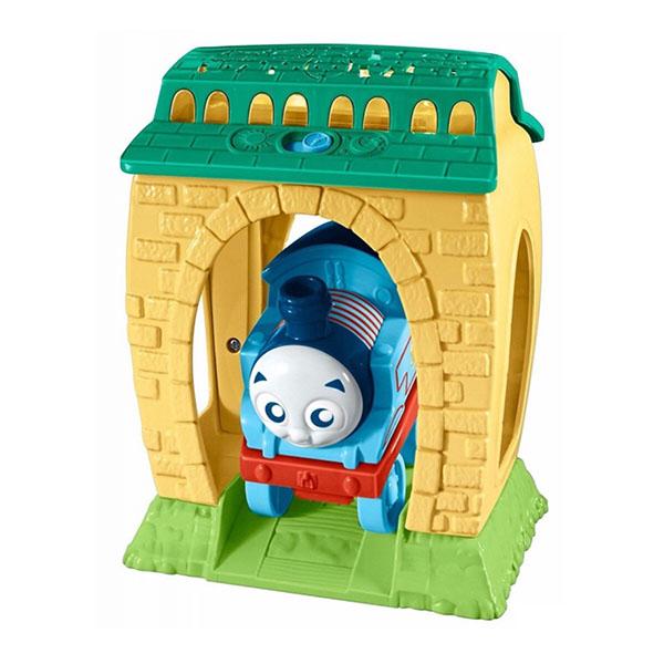 Mattel Thomas & Friends FFX56 Томас и друзья Игровой набор с проекцией и звуками День и Ночь