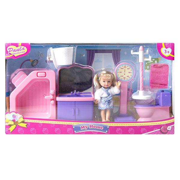 цена на Paula MC23110c Игровой набор Мой дом ванная