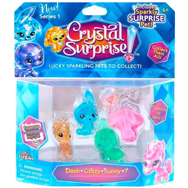 Crystal Surprise 45714 Кристал Сюрприз Игровой набор - 4 фигурки