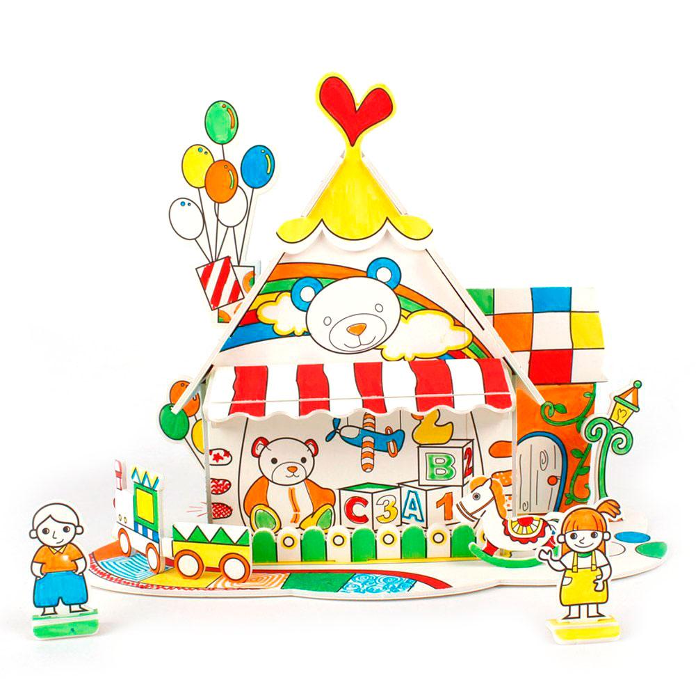 купить Cubic Fun P693h кубик фан пазл раскраска игрушечный