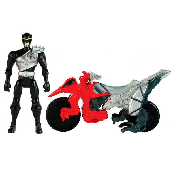 Power Rangers Samurai Dino Charge 43070 Пауэр Рейнджерс Динобайк+Фигурка 12 см в ассортименте
