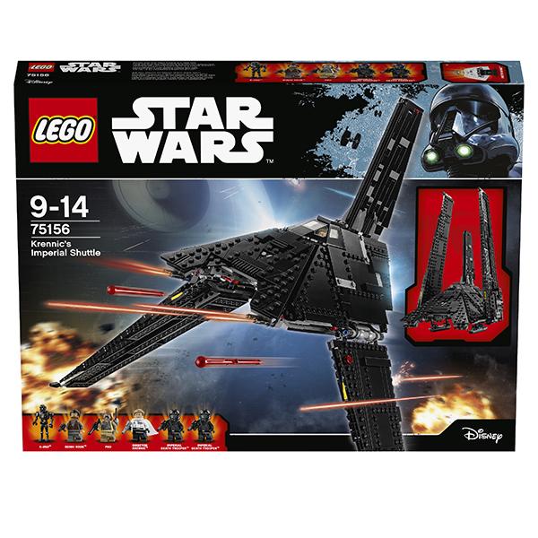 Lego Star Wars 75156 Конструктор Лего Звездные Войны Имперский шаттл Кренника