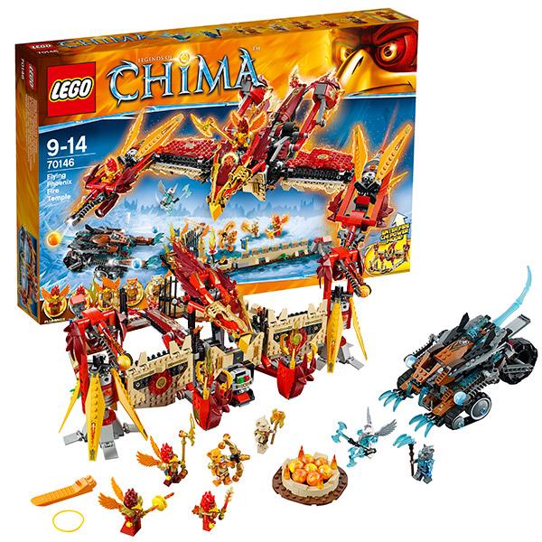 Лего Чима 70146 Огненный летающий Храм Фениксов