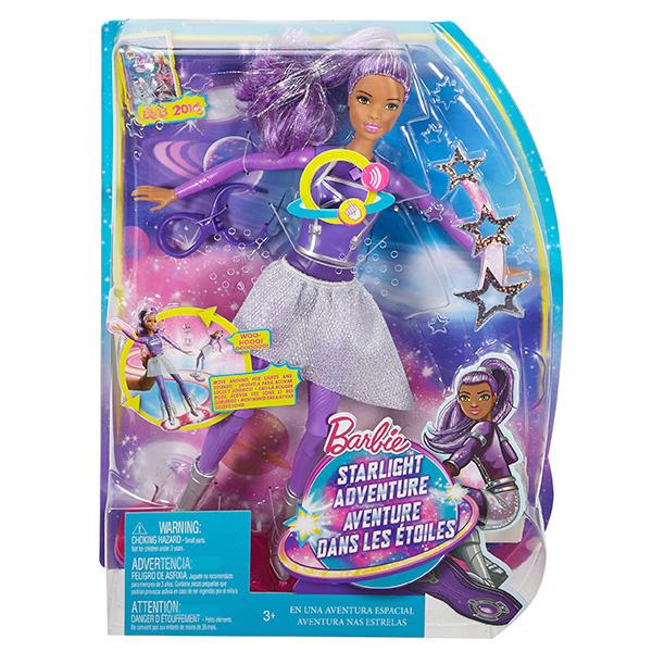 """Mattel Barbie DLT23 Барби Кукла с ховербордом из серии """"Barbie и космическое приключение"""""""