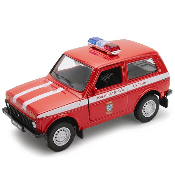 Welly 42386FS Велли Модель машины 1:34-39 LADA 4x4 ПОЖАРНАЯ ОХРАНА машины welly модель машины 1 34 39 lada granta пожарная охрана page 10