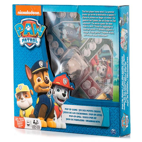Paw Patrol 6028796 Щенячий патруль Настольная игра с кубиком и фишками