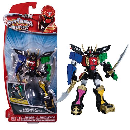Power Rangers Samurai 38155 Пауэр Рейнджерс Легендарный Мегазорд подвижный