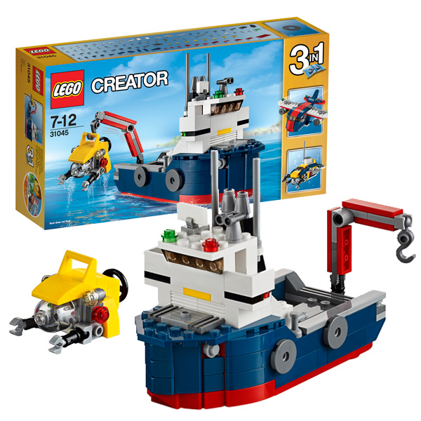 Lego Creator 31045 Лего Криэйтор Морская экспедиция lego город исследование морских глубин номер модели 60091