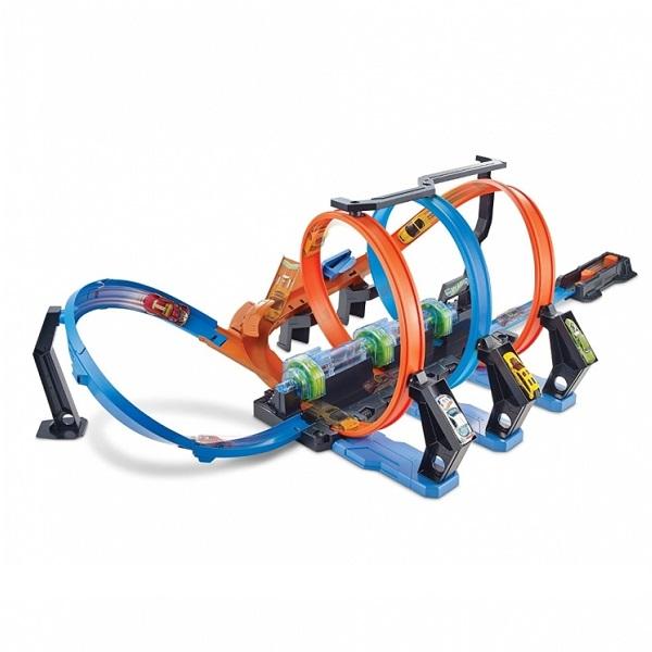 """Mattel Hot Wheels FTB65 Хот Вилс Игровой набор """"Винтовое столкновение"""""""