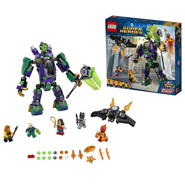 Lego Super Heroes 76097 Лего Сражение с роботом Лекса Лютора конструктор lego super heroes 76055 бэтмен убийца крок