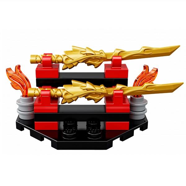 Lego Ninjago 70633 Конструктор Лего Ниндзяго Кай - мастер Кружитцу