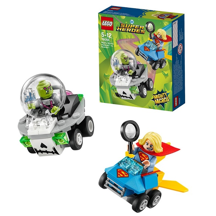 Lego Super Heroes Mighty Micros 76094 Конструктор Лего Супергёрл против Брейниака lego 76069 super heroes mighty micros бэтмен против мотылька убийцы