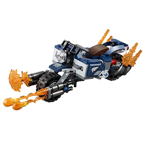 LEGO Super Heroes 76123 Конструктор ЛЕГО Супер Герои Капитан Америка: Атака Аутрайдеров