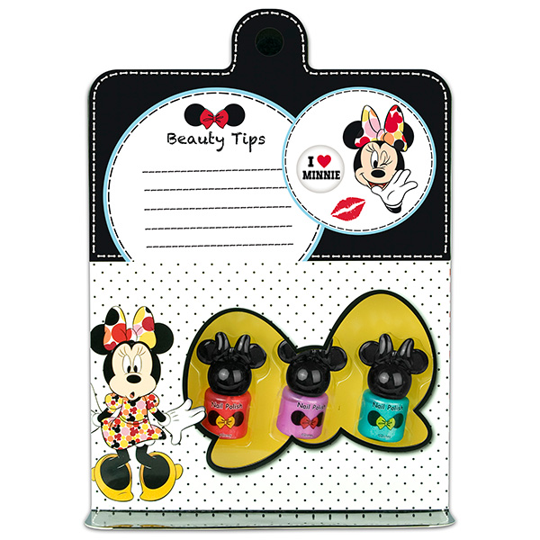 Markwins 9605051 Minnie Набор детской декоративной косметики для ногтей