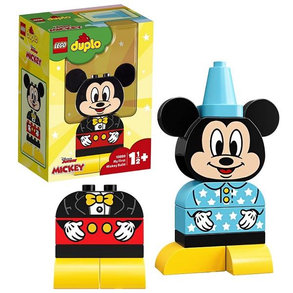 цена LEGO DUPLO 10898 Конструктор ЛЕГО ДУПЛО Дисней Мой первый Микки
