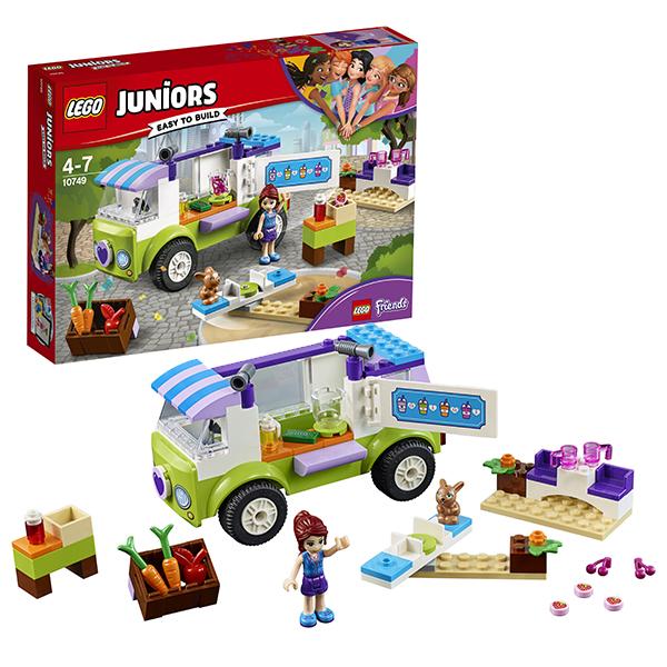 Lego Juniors 10749 Конструктор Лего Джуниорс Рынок органических продуктов lego juniors 10739 лего джуниорс ниндзяго нападение акулы