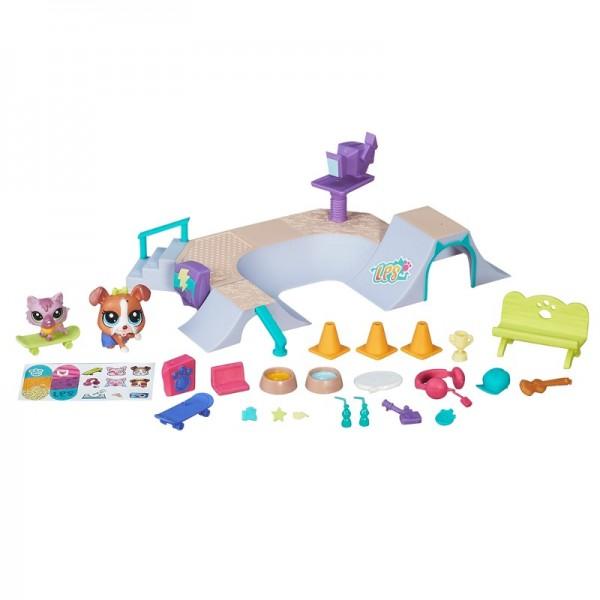 """Hasbro Littlest Pet Shop B5565 Литлс Пет Шоп Игровой набор """"Городские сценки"""" (в ассортименте)"""