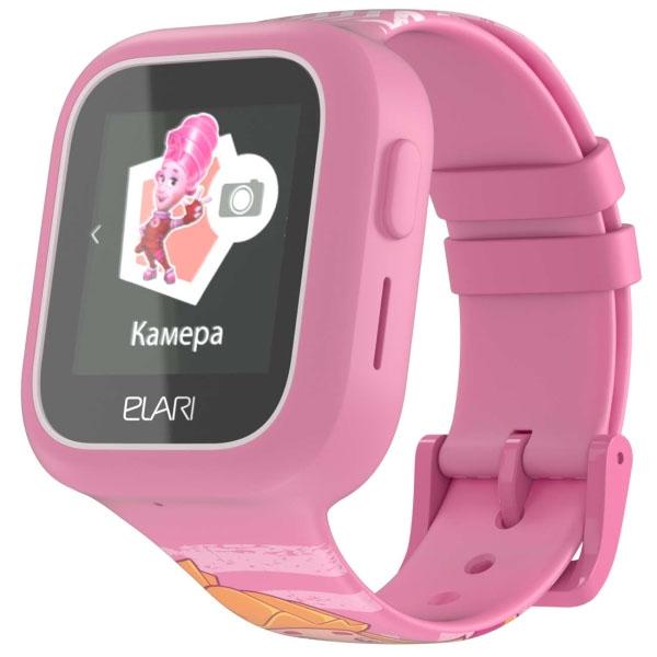 Elari ELFT-L/PNK Часы KidPhone FixiTime Lite розовые elari elft l pnk часы kidphone fixitime lite розовые