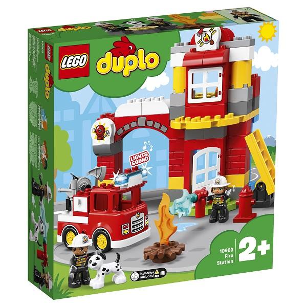 LEGO DUPLO 10903 Конструктор ЛЕГО ДУПЛО Пожарное депо