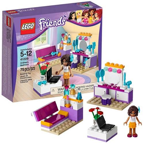 Конструктор Lego Friends 41009 Лего Подружки Спальня Андреа
