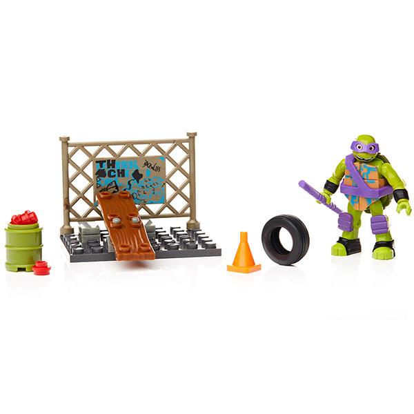"""Mattel Mega Bloks DPF61 Мега Блокс Игровой набор """"Тренировка черепашек"""""""