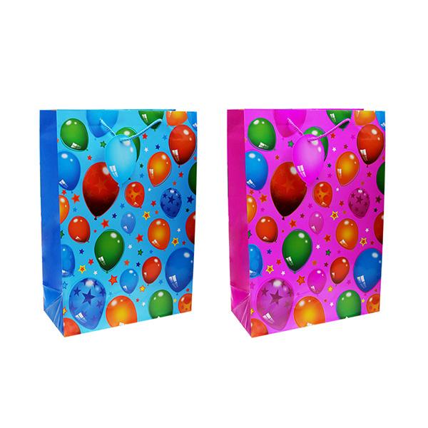 Пакет подарочный бумажный TZ14044 Воздушные шары, 2 вида (45*31*14 см) (в ассортименте) джемпер ichi 104221 14044