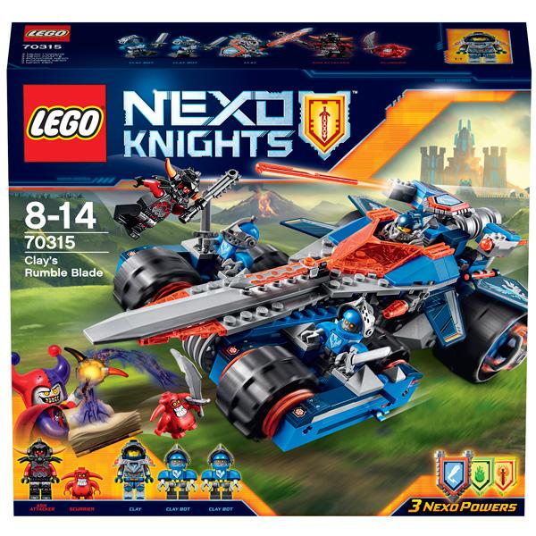 Lego Nexo Knights 70315 Конструктор Лего Нексо Устрашающий разрушитель Клэя