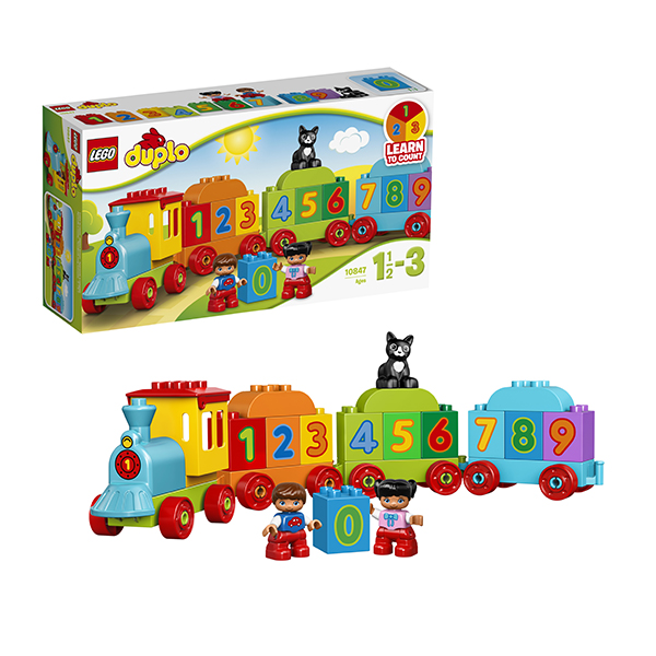 Lego Duplo 10847 Конструктор Лего Дупло Поезд Считай и играй 2018 1359pcs star wars imperial star destroyer model building kits blocks bricks toy for children figures compatible with 75055