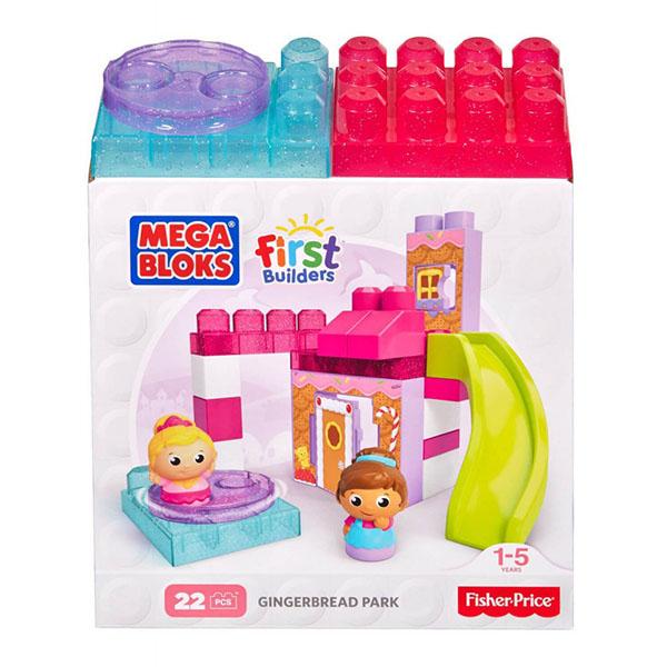 """Mattel Mega Bloks DKX85 Мега Блокс Игровой набор - конструктор """"Веселые качели"""""""