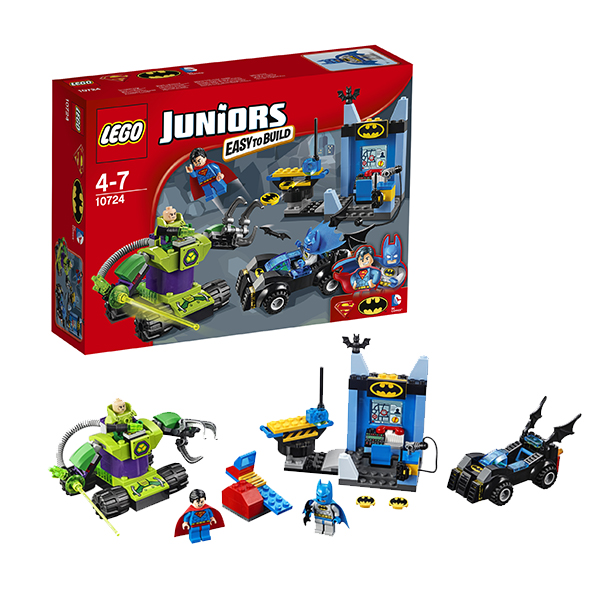 Lego Juniors 10724 Лего Джуниорс Бэтмен и Супермен против Лекса Лютора