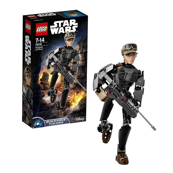 Lego Star Wars 75119 Конструктор Лего Звездные Войны Сержант Джин Эрсо модуль памяти kingston ddr3 dimm 1600mhz pc3 12800 8gb kit 2x4gb kvr16n11s8k2 8