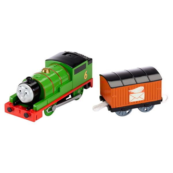 Mattel Thomas & Friends BML07 Томас и друзья Паровозик Перси с вагоном
