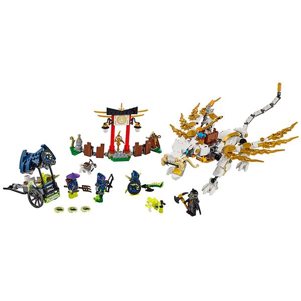 LEGO Ninjago 70734 Конструктор ЛЕГО Ниндзяго Дракон Мастера Ву