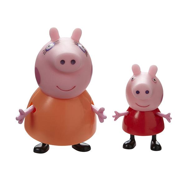 """Peppa Pig 20837 Свинка Пеппа Набор """"Семья Пеппы"""" из 2 фигурок 2 шт (в ассортименте)"""