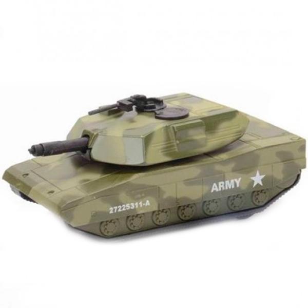 Soma 78148 Военная техника Танк М-1 12 см машины mighty wheels soma военный перевозчик танк 28 см