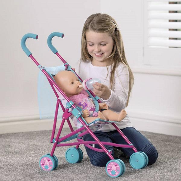 Zapf Creation Baby Born 1423489 Бэби Борн Коляска-трость с сеткой, 2017