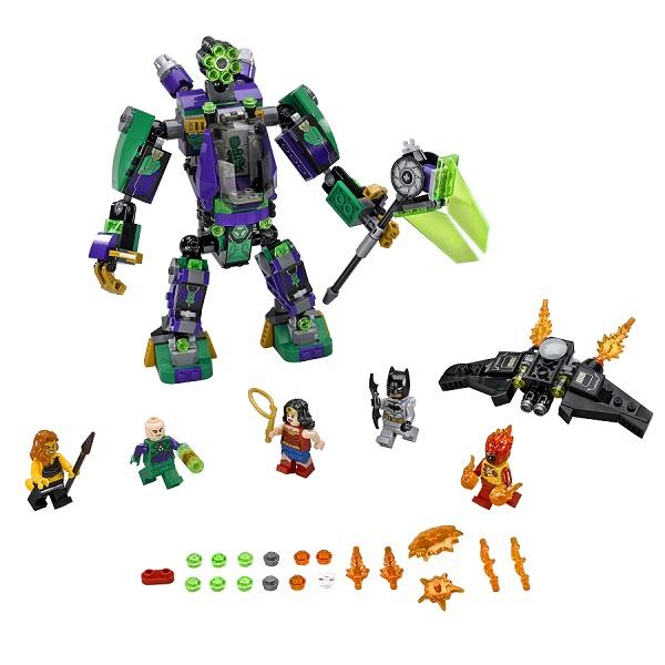 Lego Super Heroes 76097 Конструктор Лего Сражение с роботом Лекса Лютора