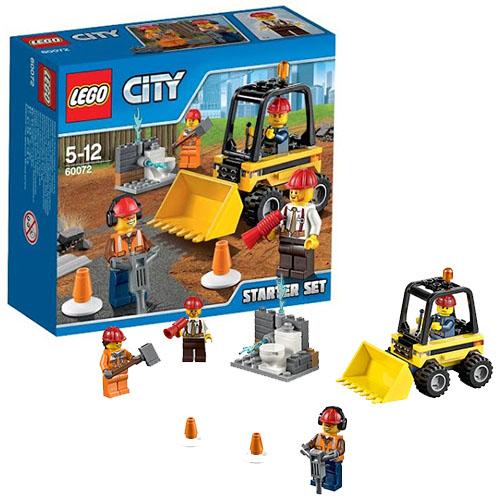 Lego City 60072 Конструктор Лего Город Строительная команда для начинающих
