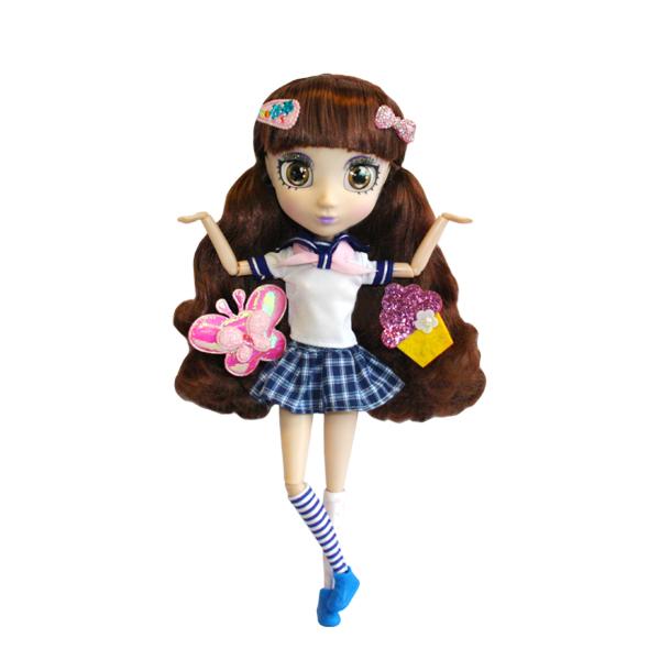 Shibajuku Girls HUN2161 Кукла Намика, 33 см shibajuku girls кукла 15см намика shibajuku girls