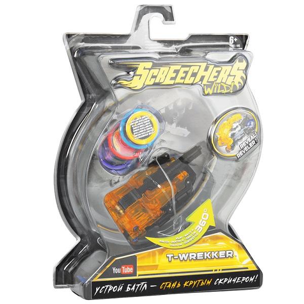 Screechers Wild 35867 Дикие Скричеры Машинка-трансформер Ти-Реккер л2