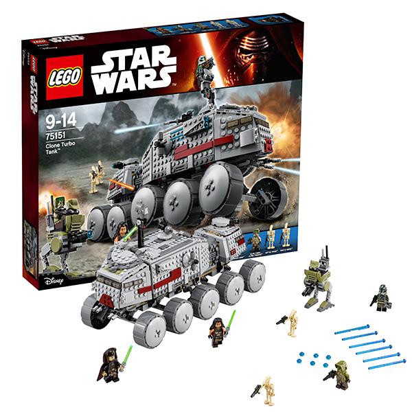 Lego Star Wars 75151 Лего Звездные Войны Турботанк Клонов лего звездные войны игрушки войны клонов