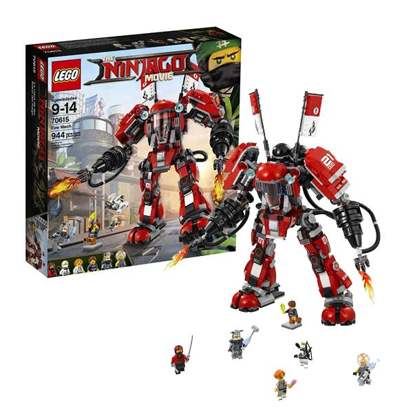 Lego Ninjago 70615 Конструктор Лего Ниндзяго Огненный робот Кая конструктор lego ninjago 70633 кай мастер кружитцу