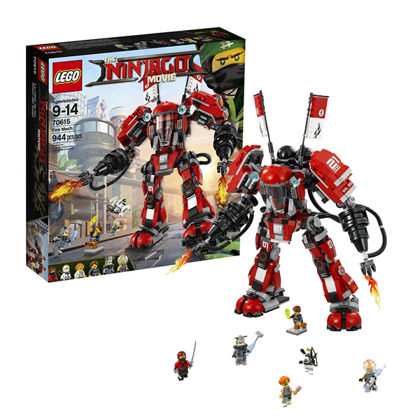 Lego Ninjago 70615 Конструктор Лего Ниндзяго Огненный робот Кая