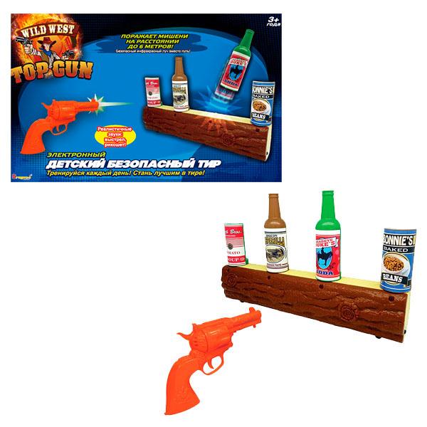 Dragon-i 10522N ИК-тир Wild West Gunslinger dragon i интерактивная игрушка dragon i тир с пистолетом звук