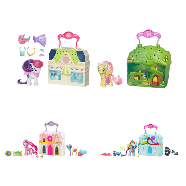 Hasbro My Little Pony B3604 Май Литл Пони Мейнхеттен (в ассортименте)