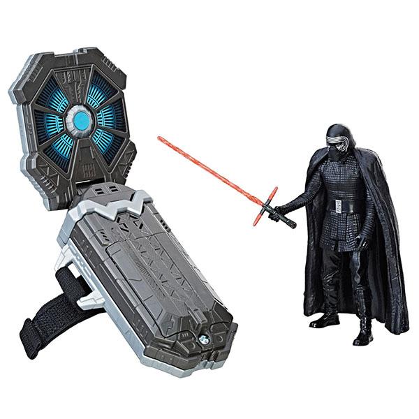 Hasbro Star Wars C1364 Игровой набор с инновационной технологией - браслет и две фигурки 9 см star wars 75104 командный шаттл кайло рена