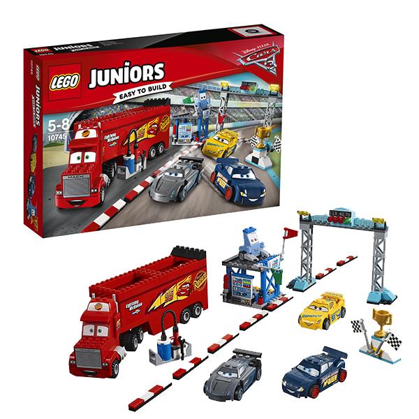 Lego Juniors 10745 Лего Джуниорс Финальная гонка Флорида 500 lego juniors 10739 лего джуниорс ниндзяго нападение акулы